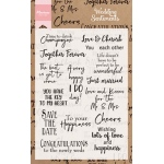 Marianne Design  Clear Stamp Wedding Sentiments