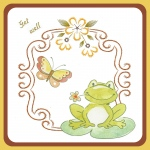 Ecstasy Crafts Embroidery Pattern - Decorative Frame