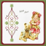 Ecstasy Crafts Kc Embroidery Pattern - Heart Border Design