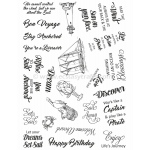 Creative Expressions  - Clear Stamp Set - Set Sail