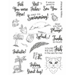 Creative Expressions  - Clear Stamp Set - Fishbowl Friends