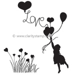 Claritystamp  - Love Is In The Air Clear Stamp Set A6