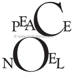 Claritystamp  - Peace & Noel Frames A5 Clear Stamp Set
