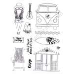 Creative Expressions  - Surf's Up Gnome Clear Stamp Set