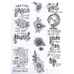 Creative Expressions  - Amazing Grace Journaling Clear Stamp Set