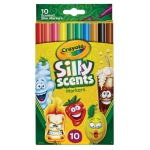 Crayola Silly Scents Slime Fine Line Washable Markers 10 ct.