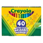 Crayola 40 Count Ultra-Clean Markers Fine Line