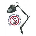 Alvin 1.75x LED Swing-Arm Magnifier Lamp Black