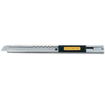 Olfa® Silver Deluxe Utility Knife: Snap Blade, Knife, (model OL-SVR1), price per each