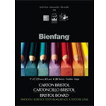 "Bienfang® 14 x 17 Smooth Finish White Drawing Bristol Board Pads: Smooth, Pad, 20 Sheets, 14"" x 17"", 146 lb"