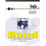 "Seth Cole 9"" x 12"" Layout Bond Paper Pad: Pad, 50 Sheets, 9"" x 12"", 20 lb"