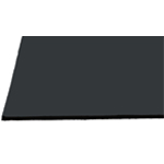 "Alvin® Black on Black Presentation Boards 20"" x 30"": Black/Gray, Matte, Sheet, 25 Sheets, 20"" x 30"", Presentation Board, (model 2030-25), price per 25 Sheets box"