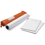 "Clearprint® 3020IJ 24"" x 50yd Bond Plotter Paper Roll: White/Ivory, Matte, Roll, 24"" x 50 yd, 20 lb, (model CP33101131), price per roll"