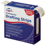 "Alvin® Drafting Strips: Drafting, 3/8"", (model DS125), price per each"