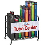 Alvin Plastic Mailing Tube Display