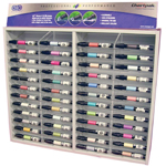 Chartpak® AD™ Marker Display: Multi, Xylene-Based, Tri-Nib, (model MKR48D), price per each