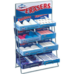 Alvin® Eraser Display: Manual, (model 1017D), price per each