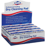 Alvin® Professional Drafting Dry Cleaning Pad Display/36: Gum, Manual, (model 1238D), price per each