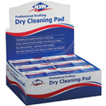 Alvin® Professional Drafting Dry Cleaning Pad Display/12: Gum, Manual, (model 1248D), price per each