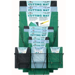 Alvin® Professional Cutting Mat Display: Vinyl, Multi, Cutting Mat, (model CM100D), price per each