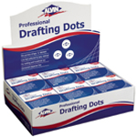 "Alvin® Drafting Dots Display: Drafting, 7/8"", (model DM123D), price per each"