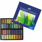 Faber-Castell® Creative Studio Soft Pastel 48-Color Set: Multi, Stick, Soft, (model FC128248), price per set