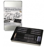 Royal & Langnickel® Graphite Sketching Small Tin Art Set: Multi, Drawing, (model RSET-ART2502), price per set