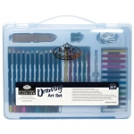 Royal & Langnickel Clear View Large Art Case Drawing Set