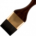 Princeton™ Best Neptune™ Synthetic Squirrel Watercolor Brush Mottler 1 1/2: Best, Short Handle, Synthetic, Mottler, Watercolor, (model 4750M-150), price per each