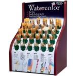 Princeton Good Synthetic Sable Watercolor and Acrylic Brush Display