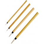Princeton™ Bamboo Brush Round 8: Natural, Round, Calligraphy, Watercolor, (model 2150B-8), price per each