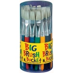 Princeton Big Brush Bucket Display