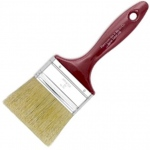 "Princeton™ Best Gesso Brush 3"": Best, Long Handle, Bristle, Natural, Gesso, (model 5450F-300), price per each"