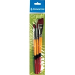 Princeton Golden Taklon Brush Set Filbert 8 Round 10 Angle Shader 3/4