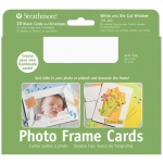 "Strathmore® Photo Frame Cards 10-Pack White: White/Ivory, Envelope Included, Card, 10 Cards, 5"" x 6 7/8"", 80 lb"