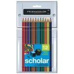 Prismacolor® Scholar® Colored Pencil 12-Color Set: Multi, (model PS312), price per set