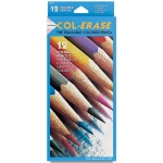 Col-Erase® Erasable Color Pencil 12-Color Set: Multi, (model SN20516), price per set
