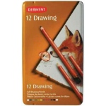 Derwent Drawing Pencil 12-Color Tin Set: Multi, Drawing, (model 0700671), price per set