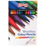 Koh-I-Noor® Woodless Pencil 24-Color Set: Multi, (model FA8758-24), price per set