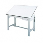 "Alvin® DesignMaster Tool and Reference White Drawer Set: Melamine, 23""l x 31""w x 1 1/2""h, 23""l x 8""w x 3 1/2""h"