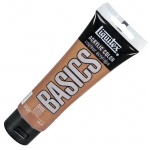 Liquitex® Basics Acrylic Color 4oz Bronze: Metallic, Tube, 118 ml, Acrylic, (model 1046229), price per tube