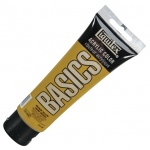 Liquitex® Basics Acrylic Color 4oz Bronze Yellow: Metallic, Yellow, Tube, 118 ml, Acrylic, (model 1046530), price per tube