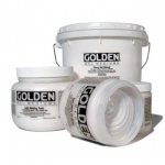 Golden® Semi-Gloss Heavy Gel Medium 8 oz.: Semi-gloss, 236 ml, 8 oz, Gel, (model 0003070-5), price per each