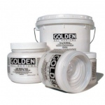Golden® Semi-Gloss Heavy Gel Medium 16 oz.: Semi-gloss, 16 oz, 473 ml, Gel, (model 0003070-6), price per each