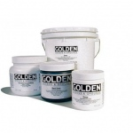 Golden® Gesso 128 oz.: White/Ivory, 128 oz, 3.78 ltr, Gesso, (model 0003550-8), price per each