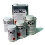 Golden® Mineral Spirit Acrylic Varnish with UVLS Satin 8 oz.: Satin, 236 ml, 8 oz, Varnish, (model 0007735-5), price per each