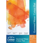 "Winsor & Newton™ Cotman™ 5"" x 8"" Watercolor Cold Press Paper Gummed Pad : Fold Over, Pad, 5"" x 8"", Cold Press, Watercolor, 200 lb, (model 6654567), price per pad"