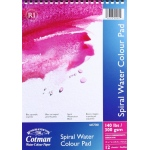 "Winsor & Newton™ Cotman™ 7"" x 10"" Watercolor Cold Press Paper Spiral Pad : Wire Bound, Pad, 7"" x 10"", Cold Press, Watercolor, 140 lb, (model 6657568), price per pad"