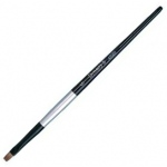 Dynasty® Black Silver® Blended Synthetic Watercolor Brush Bright 10: Short Handle, Bristle, Bright, Watercolor