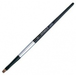 Dynasty® Black Silver® Blended Synthetic Watercolor Brush Bright 2: Short Handle, Bristle, Bright, Watercolor